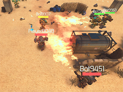 Online hra Real Mech Robot - Steel War 3D
