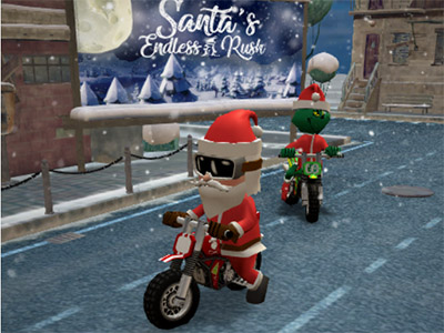 Online Game Santas Endless Rush