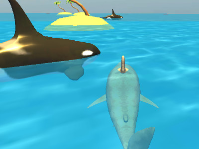 Online hra Shark Simulator Beach Killer