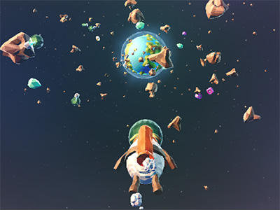 Online Game SpaceLamb