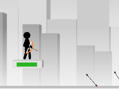 Online hra Stickman Archer