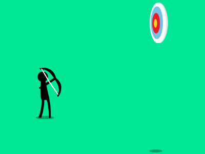 Online Game Stickman Archery