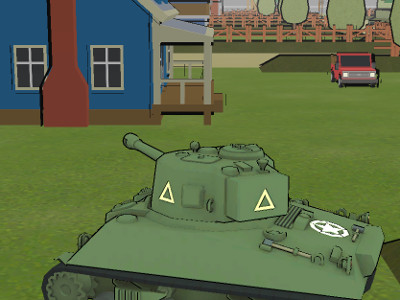 Онлайн-игра Tanks Battlefield