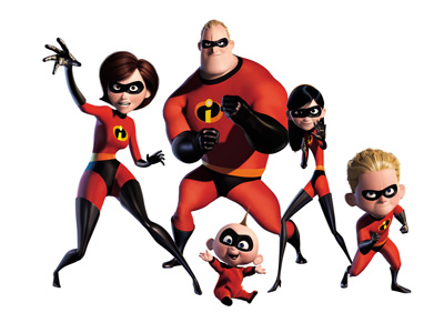 Online hra The Incredibles