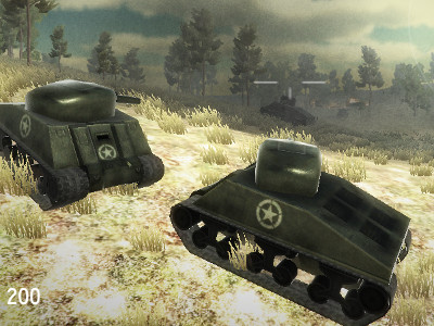 Online Game War of Tanks