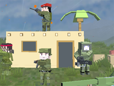 Online Game Warzone Mercenaries