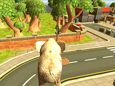 Online Game Wild Animal Zoo City Simulator