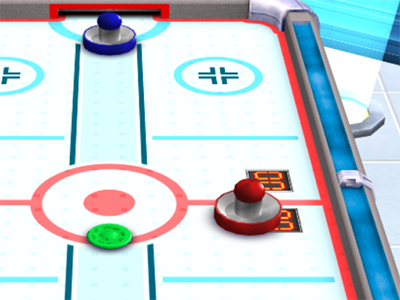 Online hra 3D Air Hockey