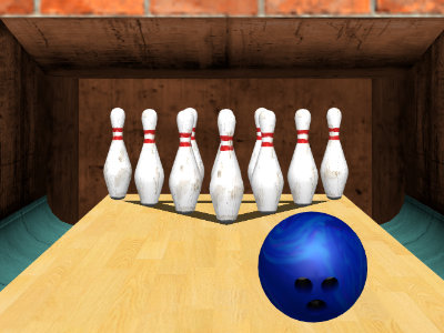 Online hra 3D Bowling
