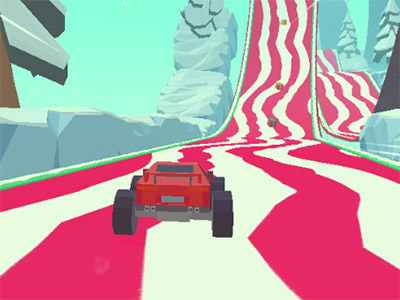 Online Game 3D Monster Trucks: IcyRoads