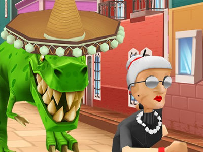 Online Game Angry Gran Run Mexico