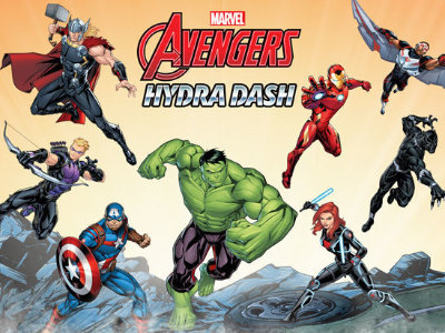 Online Game Avengers Hydra Dash