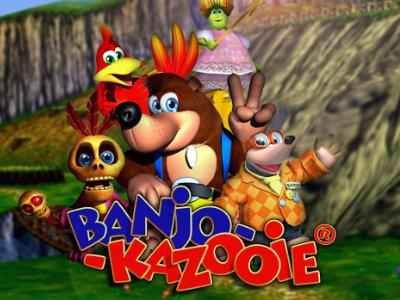 Online Game Banjo-Kazooie