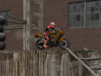 Online hra Bike Trials: Wasteland