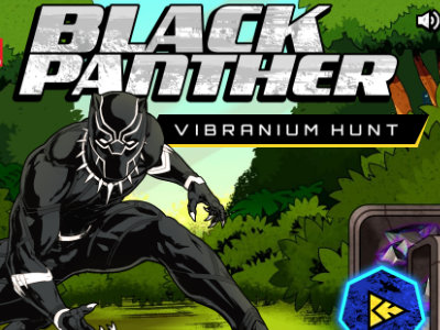 Online Game Black Panther Vibranium Hunt