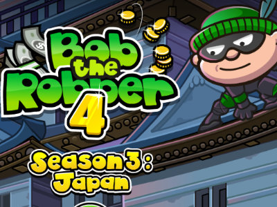 Online hra Bob the Robber 4: Japan