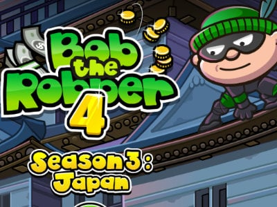 Online Game Bob the Robber 4: Japan