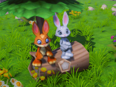 Online Game Bunny Adventures 3D