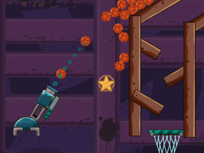 Online Game Cannon Basketball 4