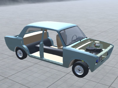 Online hra Car Tuning Simulator