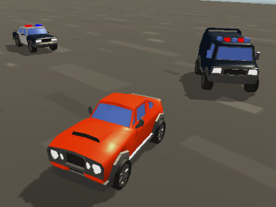 Online Game Car vs Police