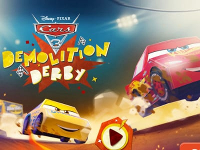 Online hra Cars 3 Demolition Derby