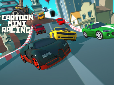 Online Game Cartoon Mini Racing