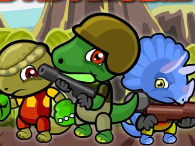 Online Game Dino Squad Adventure 2