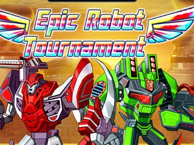 Online hra Epic Robot Tournament
