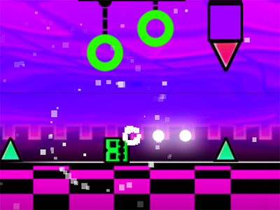 Online Game Geometry Neon Dash 3