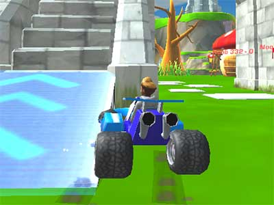 Online Game Kart Wars
