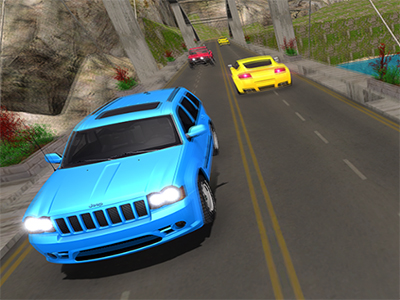 Online Game Offroad Prado Mountain Hill Climbing