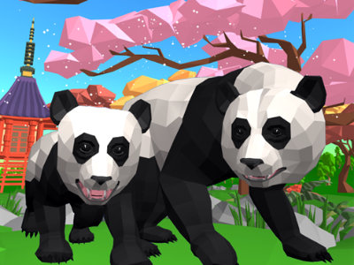 Online Game Panda Simulator 3D