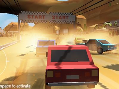 Online hra Pixel Rally 3D