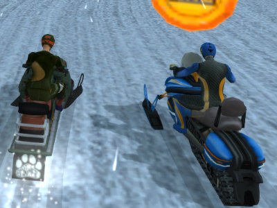 Online Game Snow Storm