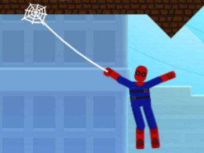 Online Game Spidey Swing