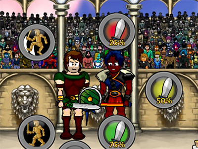 Online Game Swords and Sandals: Champion Sprint