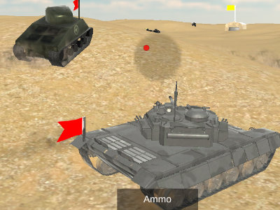 Online Game Tanks BattleField