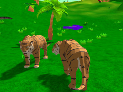 Online Game Tiger Simulator 3D
