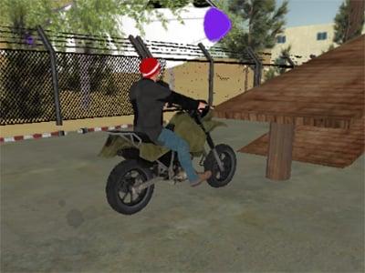Online hra Tricky Motorbike Stunt 3D