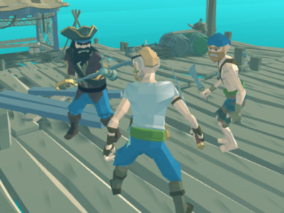 Online hra War of Caribbean Pirates