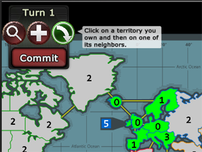 War Zone Online Risk Game