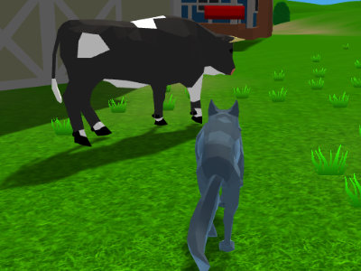 Online Game Wolf Simulator