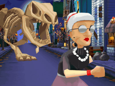 Online Game Angry Gran Run: Halloween