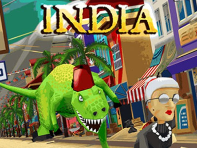 Online Game Angry Gran Run: India