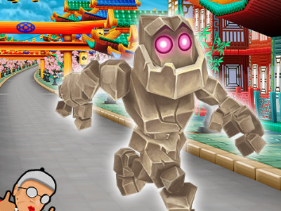 Online Game Angry Gran Run: Japan