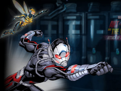 Juego en línea Ant-Man and The Wasp: Attack of the Robots
