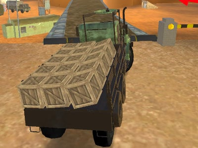 Army Cargo Driver 2
