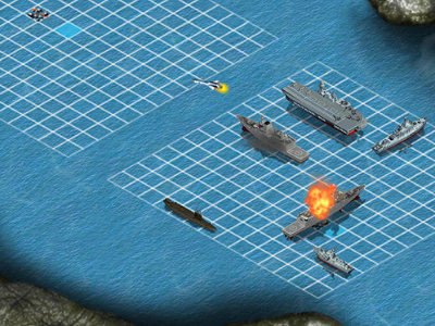 Онлайн-игра Battleship War Multiplayer