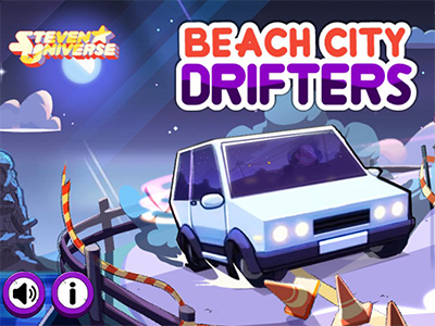 Online hra Beach City Drifters